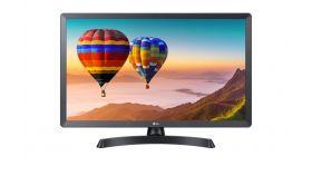 "LG 28TN515V-PZ, 27.5"" WVA, LED non Glare, TV Tuner DVB-T2/C /S2, 5ms GTG, 1200:1, Mega DFC, 250cd, 1366x768, HDMI, USB2.0, Cl slot, HOTEL MODE, Speaker 2x5W, Black"