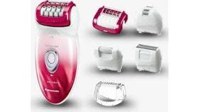 Епилатор Panasonic ES-ED92RP503, Wet & Dry, 48 пинсети, Миещ се, LED