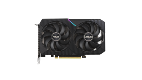 ASUS Dual GeForce RTX 3060 OC Edition 12GB GDDR6 with two powerful Axial-tech fans and a 2-slot design for broad compatibility
