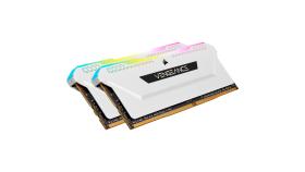 CORSAIR DDR4 16GB 2x8GB 3200MHz DIMM CL16 VENGEANCE RGB Pro SL White 1.35V XMP 2.0