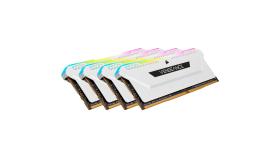 CORSAIR DDR4 32GB 4x8GB 3200MHz DIMM CL16 VENGEANCE RGB Pro SL White 1.35V XMP 2.0