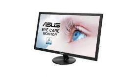 ASUS Monitor VP247HAE 23.6inch FullHD Flicker Free Blue Light Filter Anti Glare