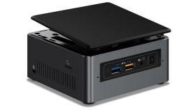 "Intel vPRO 24x7 qualified NUC 7th Gen Optane Memory Ready, Core i5-7300U DC 2.60GHz 3.5GHz Turbo, 2x DDR4 1.2V SODIMM (max 32GB), 2.5"" HDD/SSD + NVMe/SATA M.2 SSD (80mm), Intel 4K HD Graphics 640 (Dual HDMI 2.0a (4K 60Hz, HDR), w/HDCP2.2)"