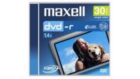 DVD-R MAXELL, 8 см, 30 мин/1.4 GB, за камери, 1 бр.