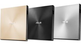 Външно DVD записващо устройство ASUS ZenDrive U9M Ultra-slim, USB Type-C + USB 2.0