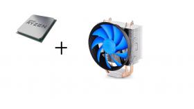 AMD CPU Desktop Ryzen 5 6C/12T 3600 (4.2GHz,36MB,65W,AM4)  tray + Cooler Deepcool Gammax 300