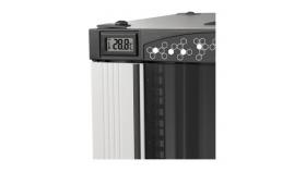 Цифров терм. 0-35C - монтаж  в пр.конзола ,черен