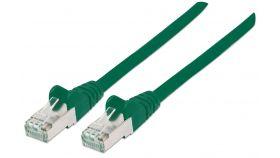 Пач кабел Cat.5e 0.5m SFTP зелен, IC