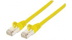 Пач кабел Cat.5e 1m FTP жълт, IC