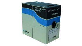 Кабел FTP Cat.5e 24AWG, box305m, BKT- Цена на метър от макара
