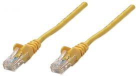 Пач кабел  Cat.5e 0.5m SFTP жълт, Assmann