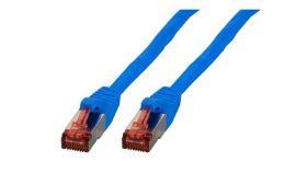 Пач кабел Cat.6 0.5m SFTP син, EFB