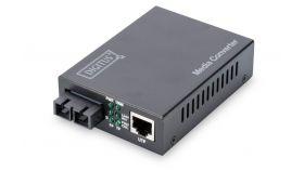 Конвертор MM SC 10/100 до 2км Digitus