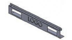 Декоративен преден панел за DYNAPRO сърв. шкаф