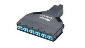 Модул с две претерм. касети 6 модула  duplex LC