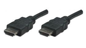 HDMI кабел 7.5м M/M черен, IC