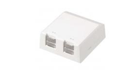 Розетка празна за 2 Mini-Com® Modules