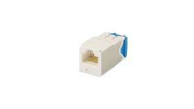 Mini-Com конектор UTP Cat.6A бял