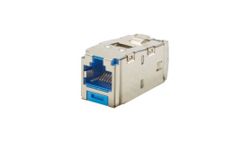 Mini-Com конектор FTP Cat.6A син