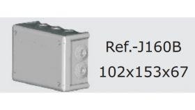 Кутия Boxline 166x116x70 IP66 с гумени упл.