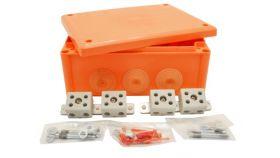Кутия FireResist E90 216x166x90 оранжева IP66