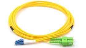 Оптична корда дуплекс 9/125 LC-SC/APC 3m, MY