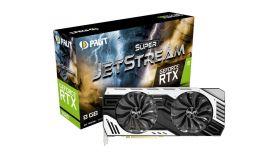 PALIT Video Card GeForce RTX 2080 nVidia, SuperJetstream 8GB GDDR6,256bit ,HDMI,DP1.4x3, USB TypeC part# NE62080U20P2-1040J