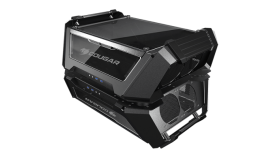 Chassis COUGAR Gemini X, Dual Tower,Primary - Mini ITX / Micro ATX / ATX / CEB, USB 3.1 Gen2 Type-C x1 / USB3.0 x 2/ Mic x 1 / Audio x 1,PSU- Standard ATX PS2,Secondary - Mini ITX,USB 3.1 Gen2 Type-C x1 / USB3.0 x 2/ Mic x 1 / Audio x 1,PSU-SFX