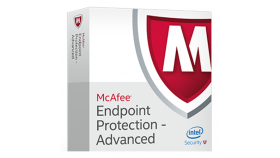 McAfee Endpoint Protection - Advanced Suite ProtectPLUS Perpetual License with 1yr Business Software Support MFE Endpoint Protection - Adv P:1 BZ[P+] 11-25