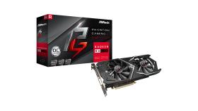 ASROCK Video Card AMD PHANTOM GAMING X RADEON RX 570 4G OC GDDR5 256bit HDMI /Dual DVI-D / 3 x DP Retail