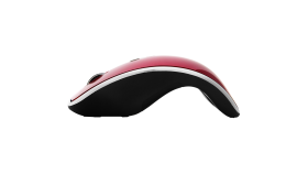 Input Devices - Mouse PRESTIGIO (Cable, Optical 800/1600dpi,4 btn,USB 2.0), Red