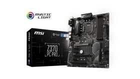 MSI Main Board Desktop Z370 (S1151,4xDDR4,2xPCI-Ex16,3xPCI-Ex1,1xPCI, 2x M.2, USB3.1,USB2.0,SATA III,HDMI,DVI,VGA,GLAN) ATX
