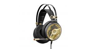Геймърски слушалки A4TECH, Bloody M660, Микрофон, Черно/Златно