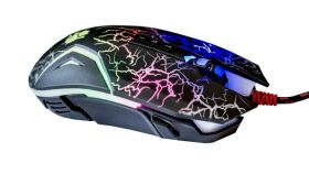 Геймърска мишка Bloody, N50, Оптична, Жична, USB, Черно