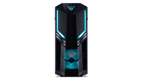 PC Acer Predator PO3-600 (Orion 3000) 16L/ Intel Core i7-8700 / up to 4.60GHz, 12MB /6GB NVIDIA GeForce GTX1060/ DVI&HDMI/ 1x8GB DDR4 /512GB SSD/ DVD RW/Card READER/WLAN 802.11ac+Bluetooth/Gigabit LAN/ PSU 500W/Predator Blue Keyboard & Mouse USB/ End