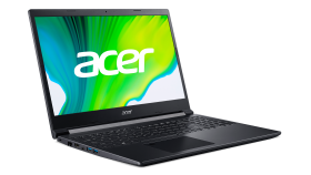 """NB Acer, Aspire 7,A715-41G-R8GUG,AMD Ryzen™ 5 3550H,None(Boot-up only),15.6"""" FHD Acer ComfyView IPS LED LCD,NVIDIA® GeForce® GTX 16504G-GDDR6,8 GB DDR4 Memory,512GB PCIe NVMe SSDCharcoal Black 15 PC+ABS Painting48Wh Li-ion battery"""