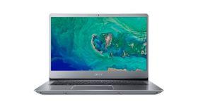 "NB Acer Swift 3 SF314-56-32NT/14.0"" IPS Full HD 1920x1080 ComfyView™ /Intel® Core™ i3-8145U/8GB(2x4GB)/256 SSD NVMe/Intel HD Graphics 620/ Keyboard backlight/Finger Print/Windows 10/ Мetallic body (Anodizing)/Sparkly Silver"
