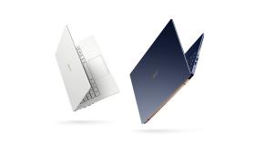 "NB Acer Swift 5 SF514-54T-74JY/ 14.0"" IPS Full HD touchscreen/ Intel Core i7-1065G7 up to 3.90 GHz, 8 MB cache / 8GB (1x8GB onb.) LPDDR4/ 512 SSD PCIe/ Intel Iris Plus Graphics G7/ Windows 10 Home/ Fingerprint/ Keyboard backlight/ Moonlight White, 2"
