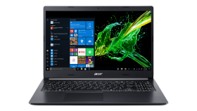 "NB Acer Aspire 5 A515-54G-74SZ/ 15.6"" FHD Acer ComfyView IPS LED LCD/ Intel Core i7-10510U/ NVIDIA GeForce MX250 2GB/ 8GB DDR4, 1000 GB HDD + m.2 SSD free slot/ backlight, Linux, Black, 2 years warranty"