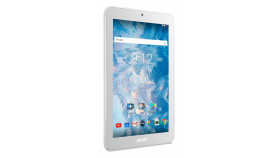 """Tablet Acer Iconia B1-7A0-K39G ANDROIDIEUBE 7.0"""" WSVGA 2Cww_316T 8167/1*1G/16G/1 cell battery/R/H7WS_bgn_0.3G2.0M_FXM_N1O1 - White"""