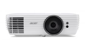 PJ Acer S1286H, DLP® 3D Ready, Short-Throw, Resol.: XGA(1024x768) Format: 4:3, Contrast: 20 000:1, Brightness: 3 500 lumens, ExtremeEco lamp life 10 000 hours, Input: 1 x HDMI, 1xComposite Video, 2xVGA, RS232 (D-sub) x1, Audio Built-In speaker 1x16W,