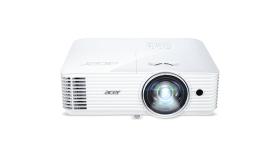 ACER S1286H short throw DLP projector XGA 1024x768 3500ANSI 2800 Eco 20000:1 32dB 24dB Eco HDMI MHL D-Sub Composite Audio