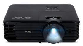 ACER X128HP DLP 3D XGA 1024x768 4000 ANSI Lumen 20.000:1 35dB 2.75kg 313x240x114 HDMI D-Sub Audio USB A black