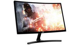 ACER Monitor ED242QRAbidpx 23.6inch 1920x1080 FHD Curved FreeSync 144Hz 4ms 100M:1 250nits VA LED DVI HDMI DP EMEA