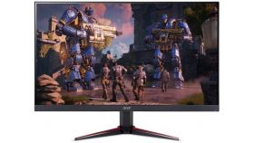 "Monitor Acer Nitro VG240Ybmiix 60cm (23.8"") IPS LED Wide, Format: 16:9, Resolution: Full HD 1920x1080@75 Hz, ZeroFrame Design; FreeSync 1ms Visual Response Boost (VRB); Brightness: 250 cd/m2, Viewing Angle: 178°/178°, VGA, 2xHDMI, 2xSpeakers; Audio i"