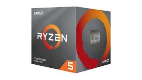 AMD CPU Desktop Ryzen 5 PRO 6C/12T 4650G (4.3GHz Max,11MB,65W,AM4) multipack, with Wraith Stealth cooler