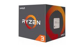AMD CPU Desktop Ryzen 3 4C/4T 1200 (3.2/3.4GHz Boost,10MB,65W,AM4) box, with Wraith Stealth cooler