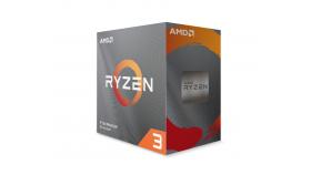Процесор AMD RYZEN 3 3300X 4-Core 3.8 GHz (4.3 GHz Turbo) 18MB/65W/AM4/BOX