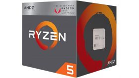 Процесор AMD RYZEN 5 2400G 4-Core 3.6 GHz (3.9 GHz Turbo) 6MB/65W/AM4/BOX