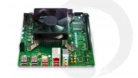 AMD 4700S Настолен Комплект, 8-ядрен процесор, 16 GB DDR4 RAM, AMD Radeon RX 550 2GB GDDR5